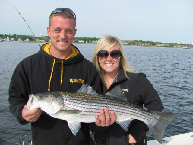 Striped Bass charter boat